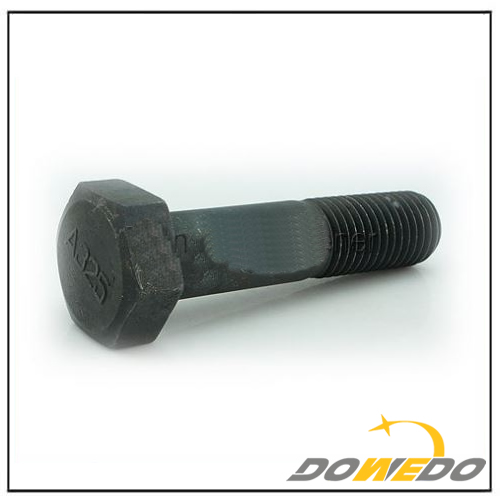 Black Oxide A325 Hex Bolt