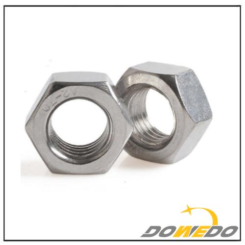 DIN934ISO4032 Plain Hexagonal Nuts