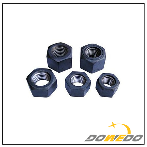 High Strength Black Hexagon Nut