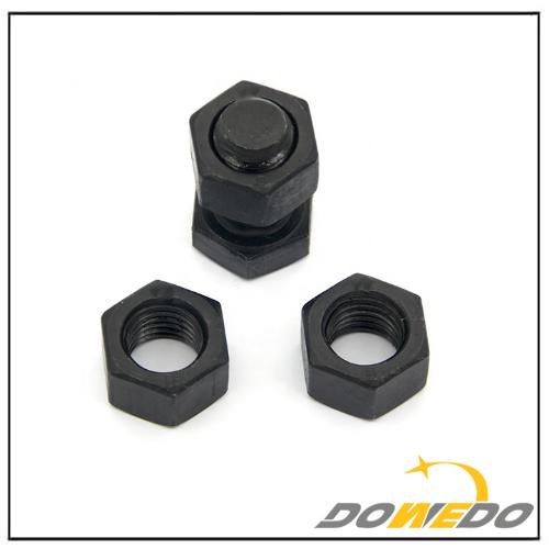 Black Oxide Bolt and Nut
