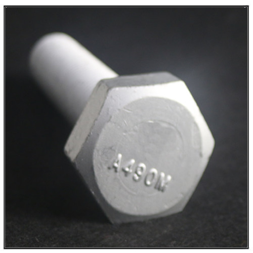 SS400 ASTM A490 Carbon Steel Bolt Hex Head