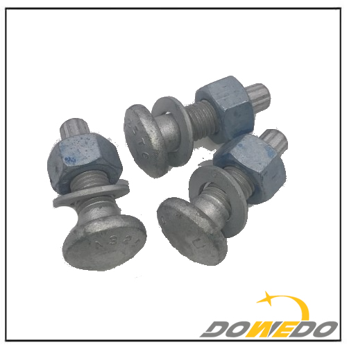 A325TC Flat Bolt with Nut Washer
