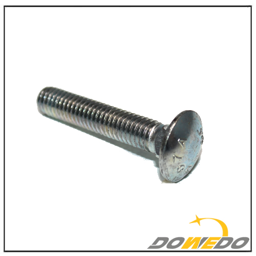 Carriage Bolt with Round Head