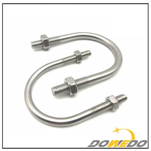 Standard Stainless Steel UNC Thread U-Bolts