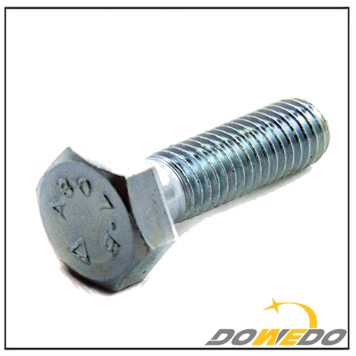 1/2-13 X 1 A307B Heavy Hex Head Bolt Galvanized