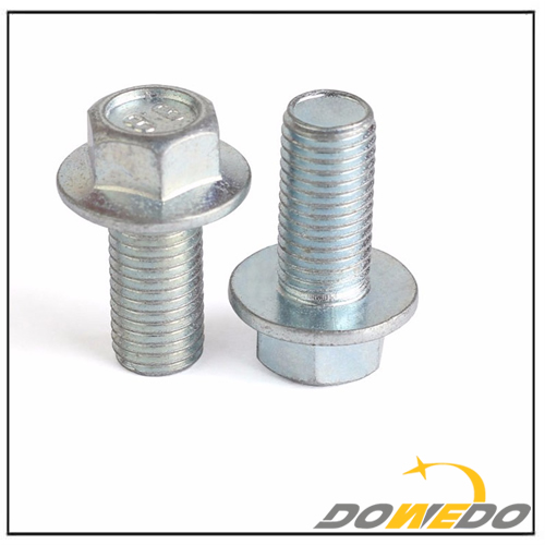DIN6921 Carbon Steel Galvanized Grade 4.8 Hex Flange Bolt