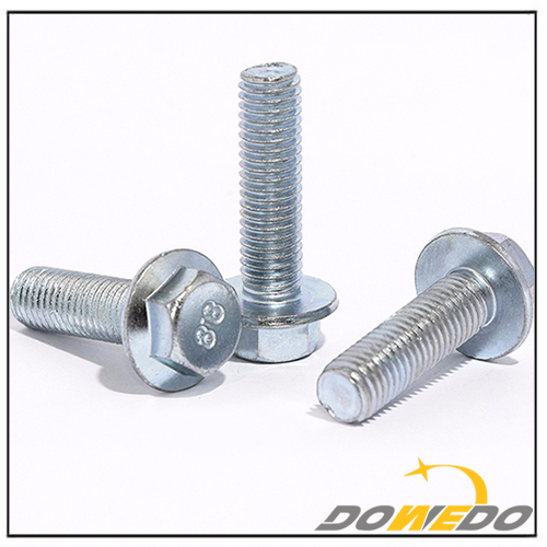 DIN6921 Steel Zinc Plated Hex Head Flange Bolt