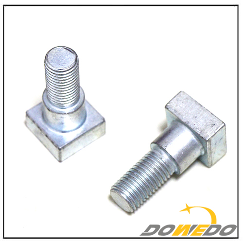 Grade 5 Square Head Zinc Finish Bolts