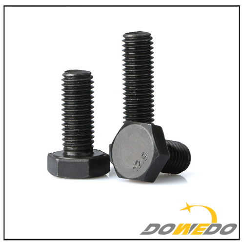 12.9 Grade High Tension Hexagon Hex Bolt