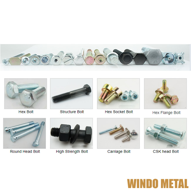 Fasteners Manufacture Various Bolts