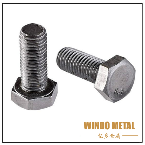 Galvanized Steel Hex Bolt DIN933