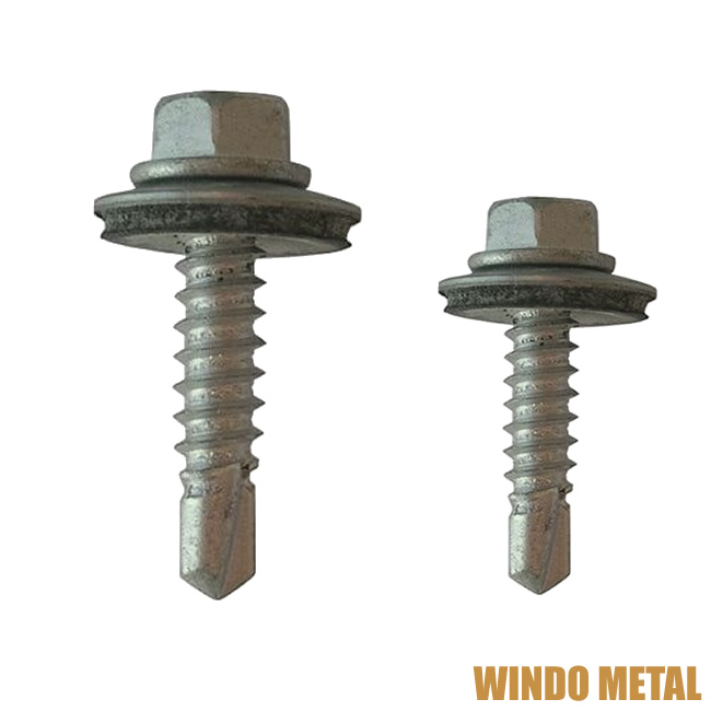 Hex Head Tek Screws