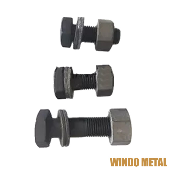 High-Strength Grade 8.8, 10.9, 12.9 Hexagon Bolts