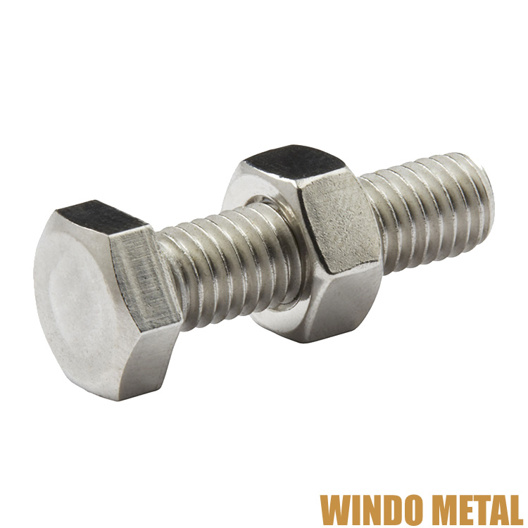 STRONGEST PREMIUM Stainless Steel HEXAGON BOLT With NUT