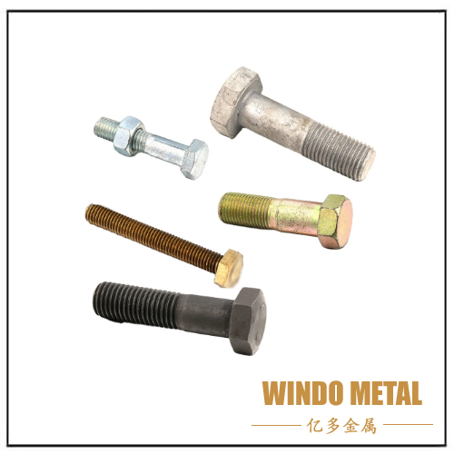 Carbon Steel Brass Heavy Hex Bolt