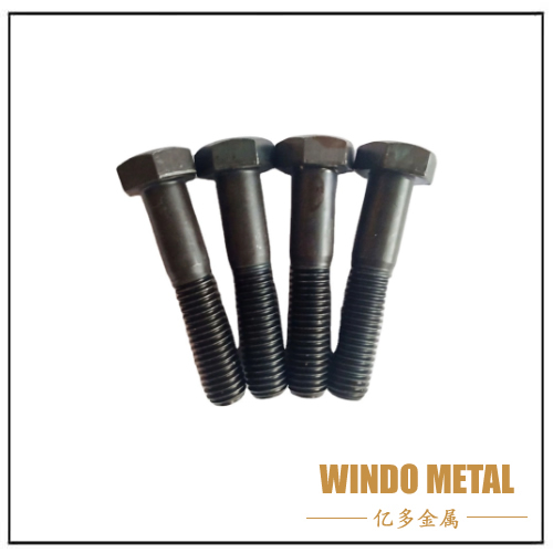 DIN931 Black Heavy Hex Bolt