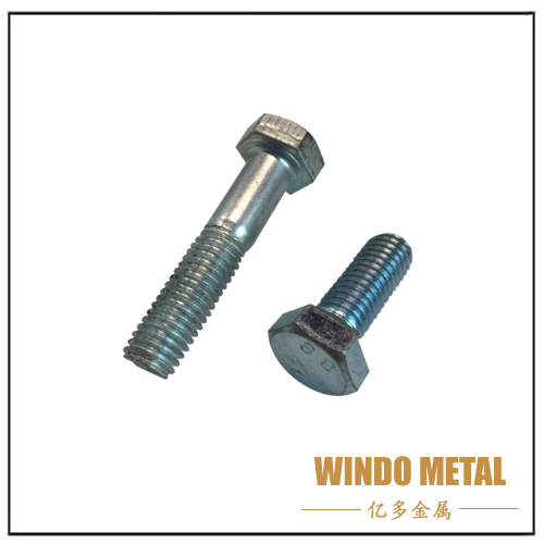 Din933 8.8 Grade Heavy Hex Bolt and Nut