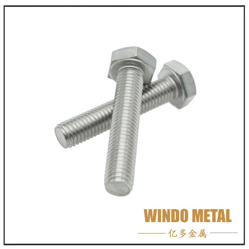 Stainless Steel DIN933 Heavy Hex Bolt