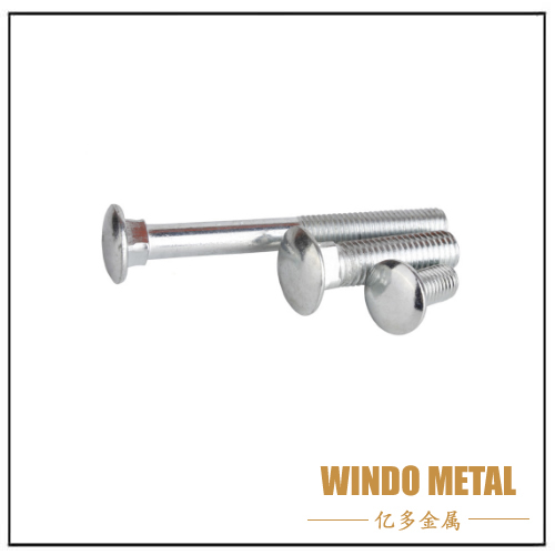 Carbon Steel Galvanized Carriage Bolt