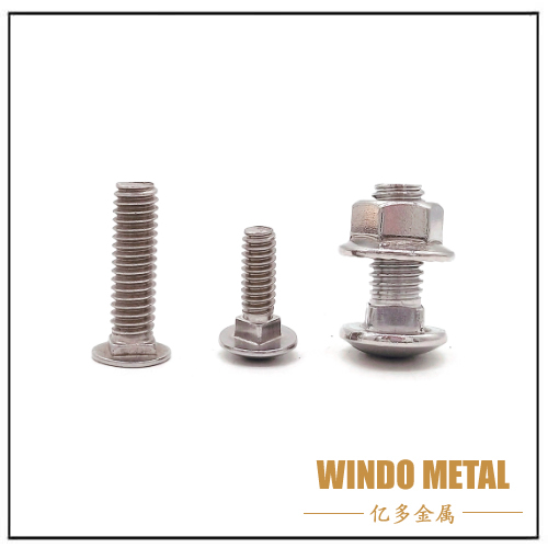 Carriage Bolt Fastener