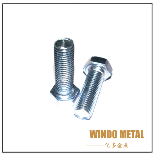 Hex Bolts and Nuts Screw Fasteners