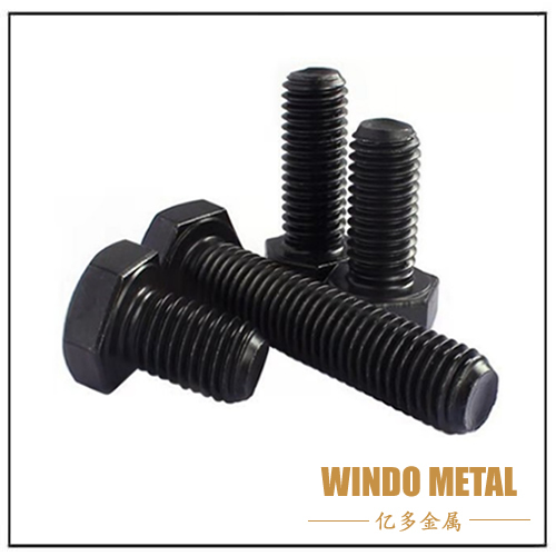 Black Carbon Steel Hex Bolt
