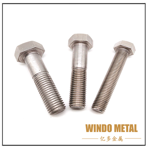 DIN933 Stainless Steel SS304 A2-70 Full Thread Hex Bolt