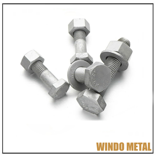 ASTM A325 A490 Heavy Hex Bolts