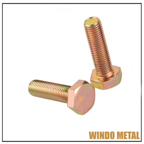 Metric Heavy Hex Head Structural Bolt